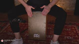 MEINL Percussion - Snarecraft Cajon - SC100BW