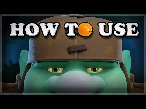 How to Use Goblin Giant  Clash Royale 🍊