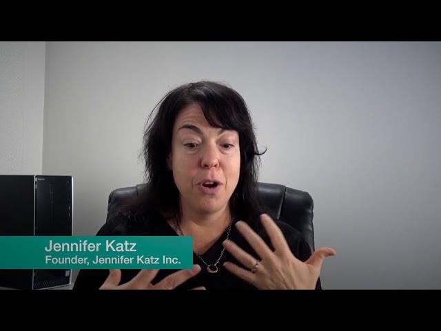 Jennifer Katz, Founder Jennifer Katz Inc. San Francisco, California, USA.