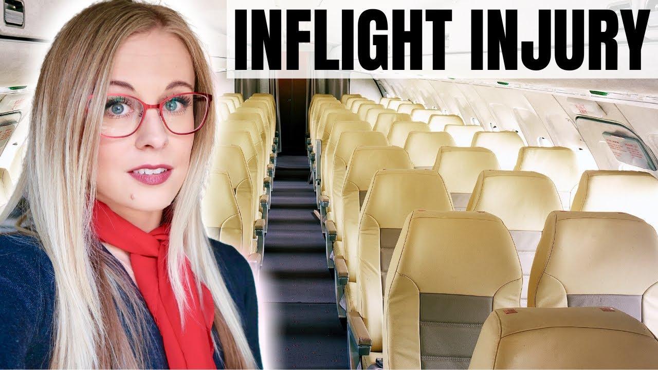 My Embarrassing Inflight Injury | Flight Attendant Life