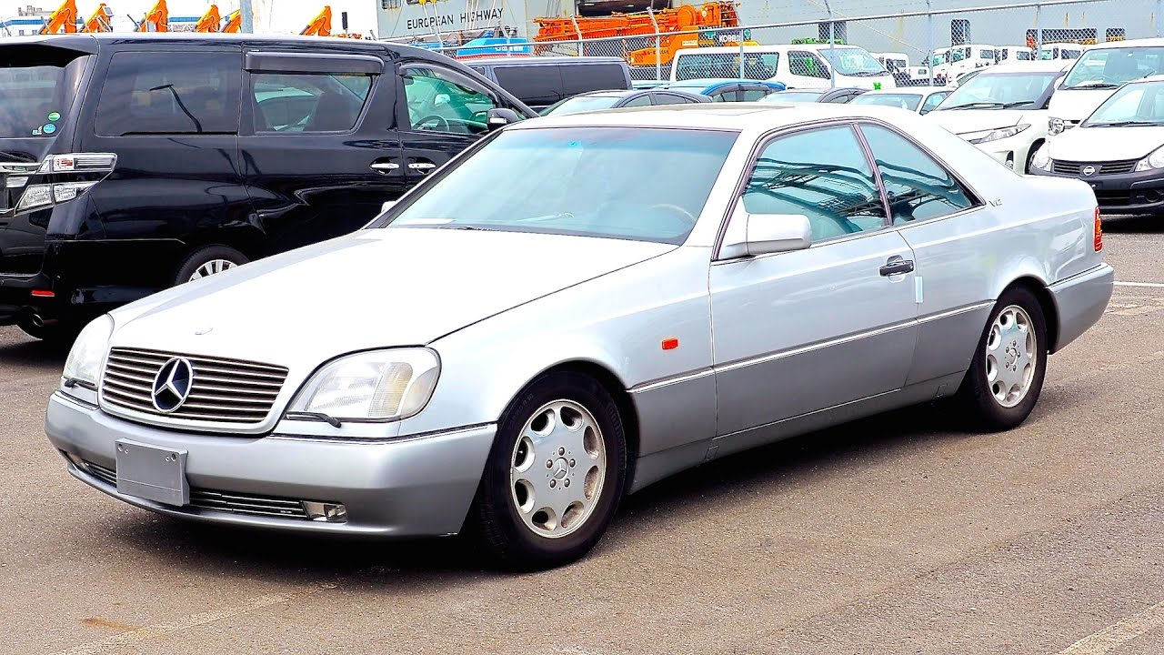 1995 mercedes benz s600 coupe v12 japan auction purchase for Mercedes benz s600 coupe