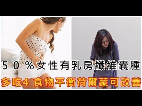 50%女性有乳房纖維囊腫!多吃5食物平衡荷爾蒙可改善! - YouTube