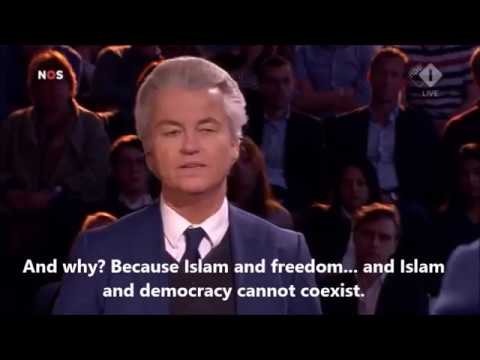 Dutch Freedom Party Geert Wilders Final Debate ENGLISH SUBTITLES