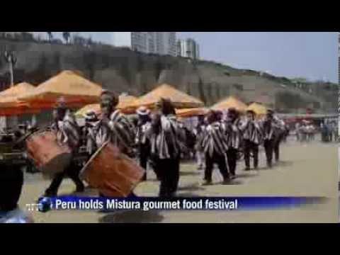 Peru hosts gourmet Mistura food festival