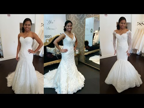 Wedding Planning Part 1: Saying Yes To The Dress