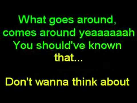 Karaoke Justin Timberlake - What Goes Around... Comes Around