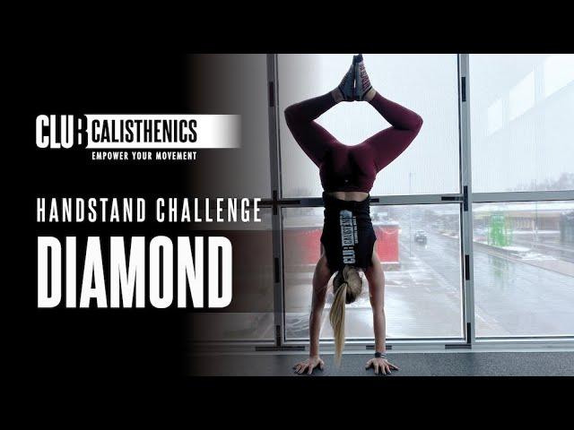 ClubCal Handstand Challenge - DAY 3 - Diamond