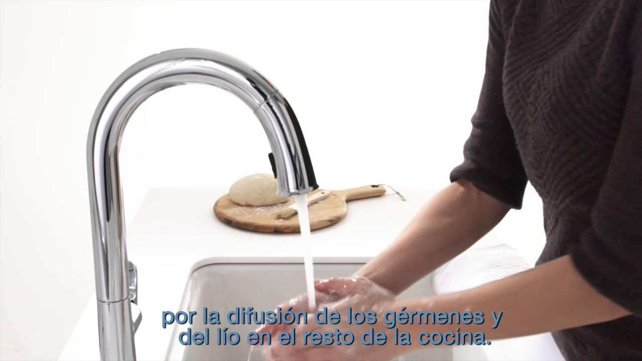 Sensate - Grifería automática para cocina - YouTube