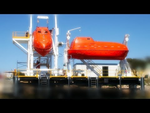 Lifeboat Davit Launching Procedure