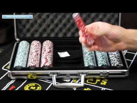 Набор для покера Nightman 300 фишек - обзор от SpacePOKER