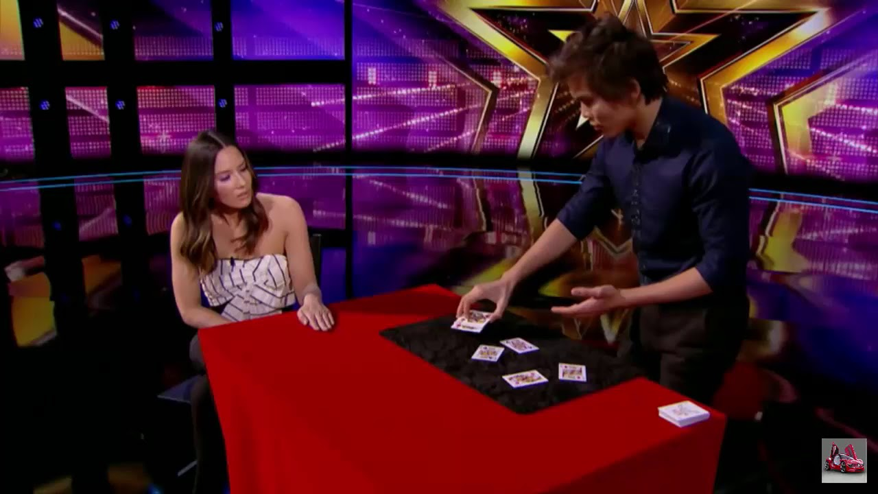 LEAK/Shin Lim Proves Magic Is Real With Unbelievable Card Tricks/America's Got Talent 2018 - YouTube