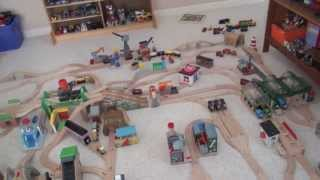 Thomas Wooden Railway Layout #3