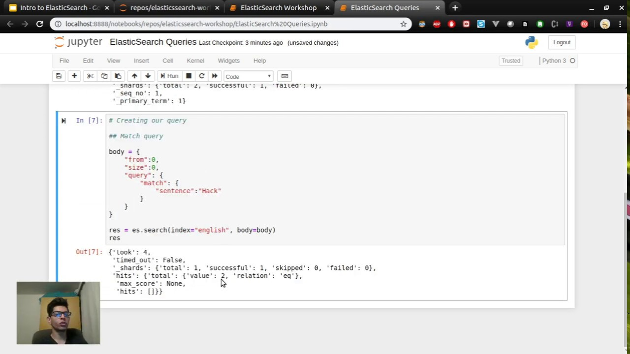 Download ElasticSearch with Python