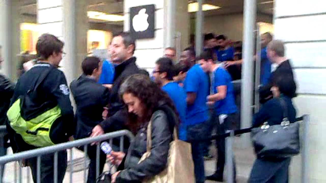 Ouverture de l Apple Store Bordeaux  Sainte Catherine    YouTube Ouverture de l Apple Store Bordeaux  Sainte Catherine