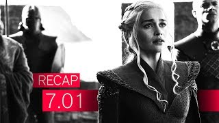 GAME OF THRONES: Dragonstone | Recap | Staffel 7 | Episode 1