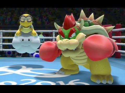 Mario & Sonic at the Rio 2016 Olympics - MAX Difficulty Tournament - Boxing, Table Tennis, Swimming