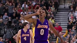 2014.01.19 - Nick Young Full Highlights at Raptors - 29 Pts, Swaggy P Mode!