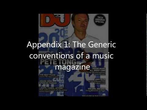 Appendix 1: Textual Analysis of a Music Magazine