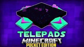 0.14.0 Minecraft Pe Mods: TELEPADS MOD Mods Para Minecraft PE 0.14.0