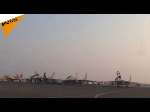 Les Preux Russes au salon Iran Air Show 2016