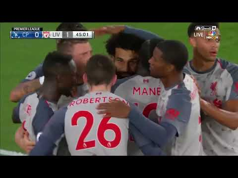 Crystal Palace VS Liverpool 0-2 Highlights & All Goals