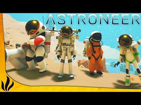 SURVIVRE DANS L'ESPACE  4 ! LE JEU A BIEN VOLU ! (Astroneer #1)