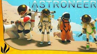 SURVIVRE DANS L'ESPACE À 4 ! LE JEU A BIEN ÉVOLUÉ ! (Astroneer #1)