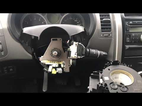 Правильная замена и установка подрулевого шлейфа на  Nissan X-Trail T31
