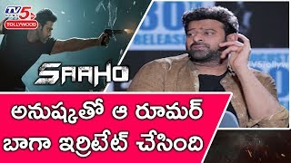Exclusive Saaho Interview with Prabhas | #SAAHO | TV5