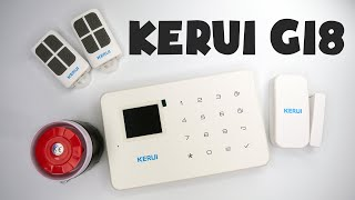 gSM сигнализация KERUI G18 - настройка системы