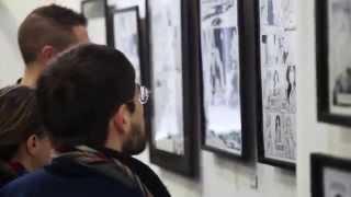 Live art Frédéric Peynet. Inauguration du vernissage  : Les vestiges de l