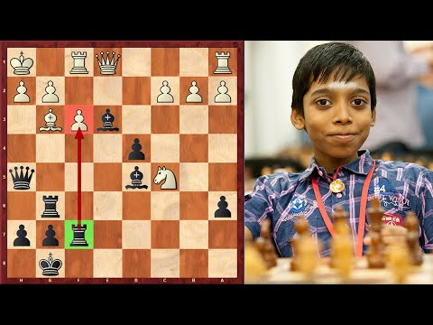Praggnanandhaa's Most Outrageous Attacking Game!