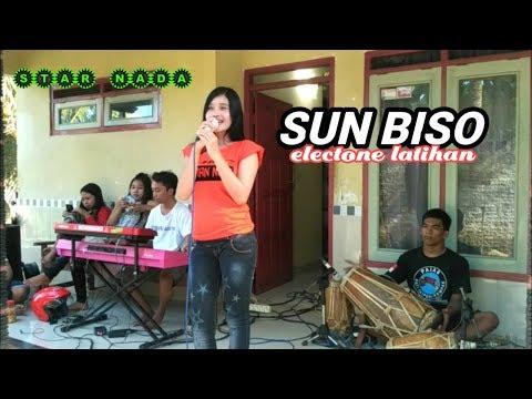 SUN BISO electone banyu wangian (versi latihan) voc: yusika star nada music pati-jateng