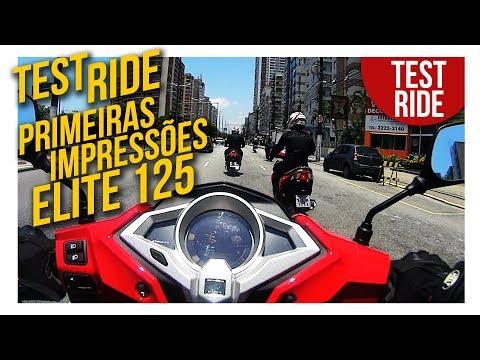 Elite 125 - Test Ride e Primeira Impressões sobre a nova Scooter da Honda