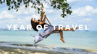 Epic Year of Travel Montage!