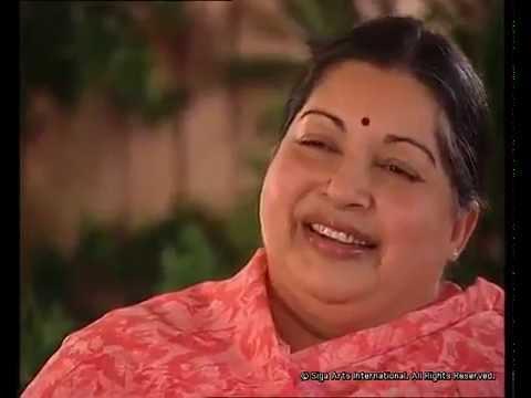 Tamilnadu CM Jayalalitha(Ex-Artist) singing a hindi song