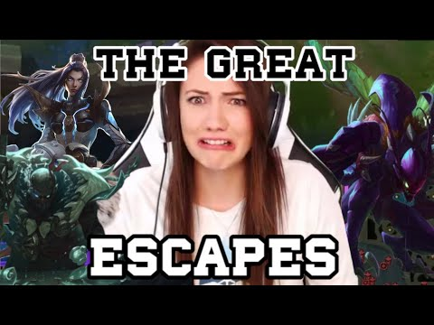 THE GREAT ESCAPES
