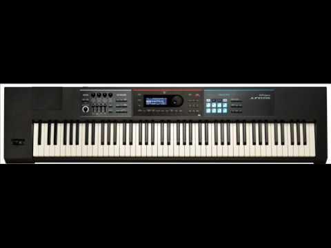 Roland Juno DS 88 piano Sentimento