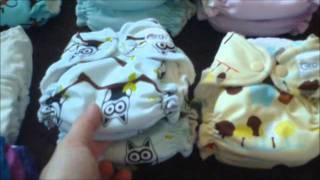 Complete Cloth Diaper Stash- NB to Potty Training