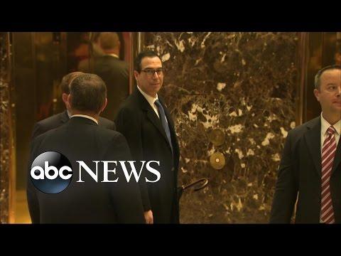 Trump Transition | Steven Mnuchin for Treasury Secretary Expected