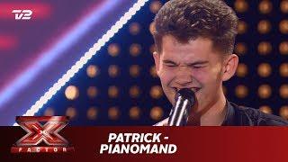 Patrick synger 'Pianomand' - Kim Larsen (5 Chair Challenge)   X Factor 2019   TV 2