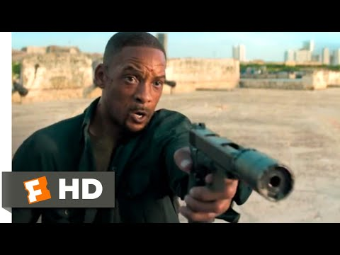 Gemini Man (2019) - Motorcycle Chase Scene (3/10) | Movieclips