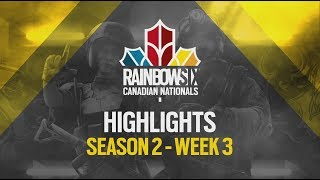 Rainbow Six Canadian Nationals: Online Circuit 2 | Week 3 Highlights Reel | Ubisoft [NA]