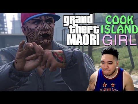 Grand Theft Maori COOK ISLAND GIRL REACTION!!!