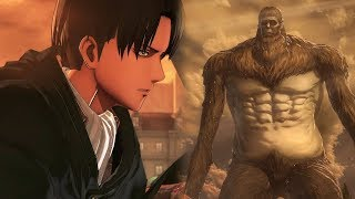 Beast Titan , Armored Titan, Colossal Titan Secret Boss Battle ENDING | ATTACK ON TITAN 2