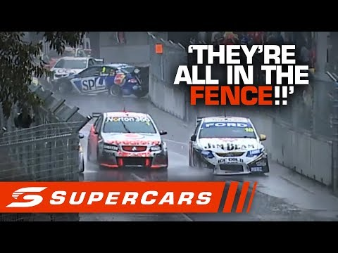 FLASHBACK: 2010 Sydney Olympic Park Wet Race Ends In Chaos | Supercars 2020