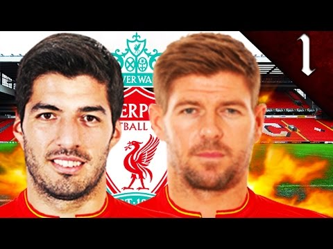 LUIS SUAREZ, GERRARD, XABI ALONSO SIGN! FIFA 17: LIVERPOOL CAREER MODE EP. 1