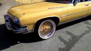 1973 Buick 225 Limited 24K gold rims