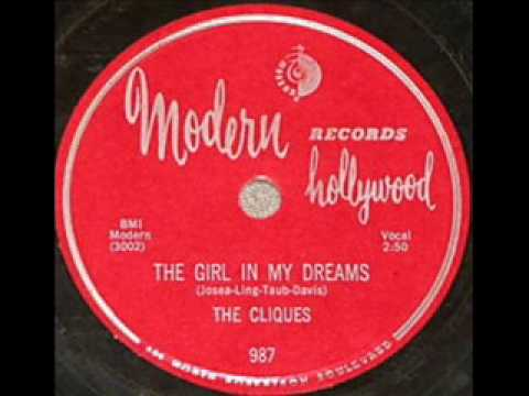 CLIQUES Girl In My Dreams 1956