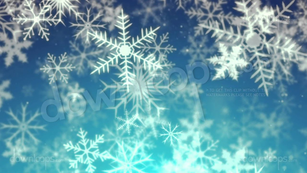 snowy 2 snow and christmas motion background video loop youtube